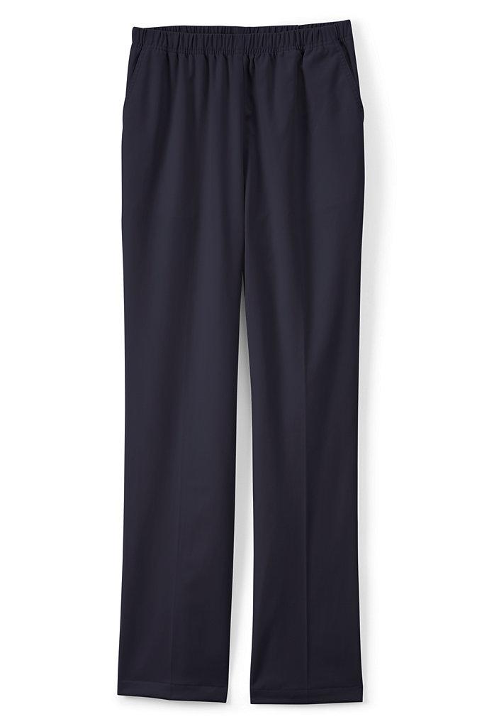 Women's 7 Day Elastic Waist Pull On Pants