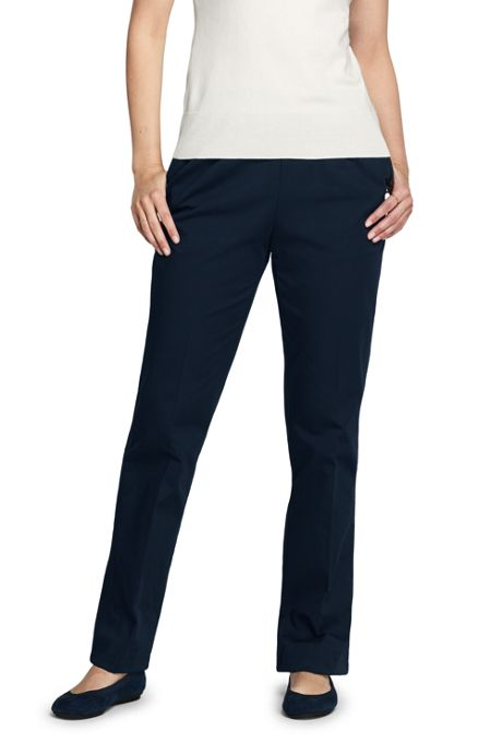 Women's 7 Day Elastic Waist Pull On Pants