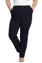 Lands' End Women's 7 Day Elastic Waist Pants