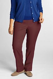 Women's Fit 3 7-day Elastic Waist Twill Pants