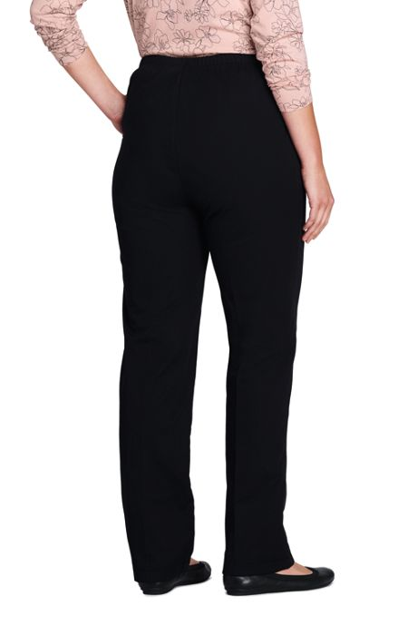 Women's Plus Size 7 Day Elastic Waist Pants