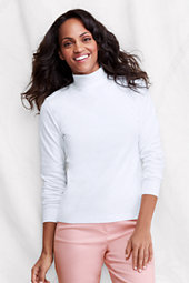 Women's Long Sleeve Relaxed Polo Neck
