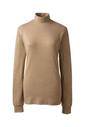 Women's Regular Long Sleeve Relaxed Polo Neck