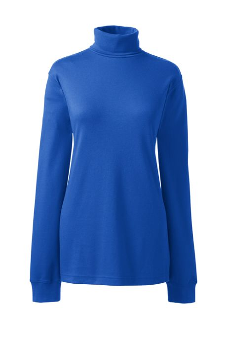 Women's Petite Relaxed Seamless Turtleneck