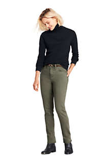 Women's Relaxed Seamless Turtleneck, Unknown