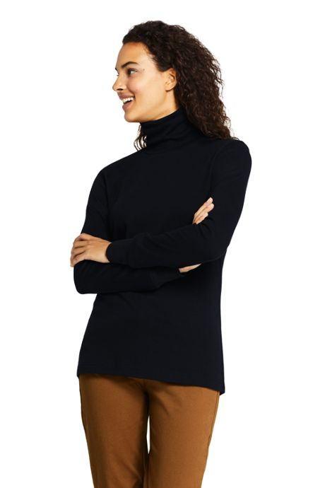 Women's Relaxed Seamless Turtleneck