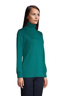 Women's Relaxed Seamless Turtleneck, alternative image
