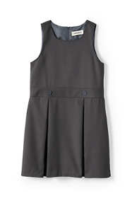 School Uniform Little Girls Uniform Solid Jumper