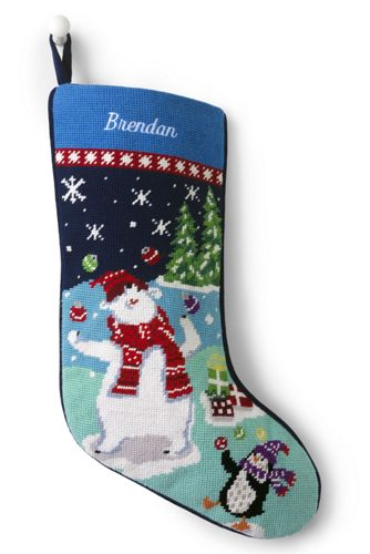 845baba10 Needlepoint Christmas Stocking