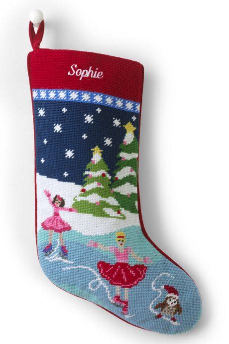 Needlepoint Personalized Christmas Stocking