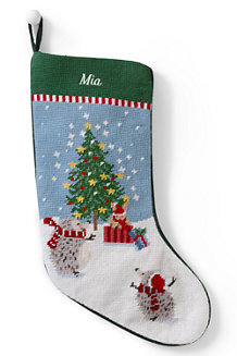 Traditional Needlepoint Stockings