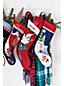 Traditional Needlepoint Stockings