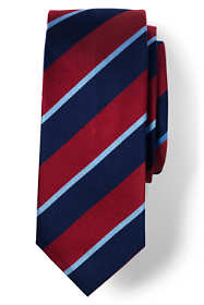Men's Long Regimental Stripe Tie