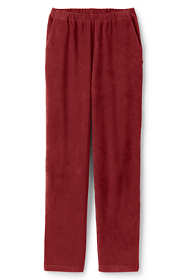 Women's Plus Size Sport Knit Corduroy Elastic Waist Pants High Rise