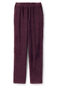 Women's Plus Size Petite Sport Knit Corduroy Elastic Waist Pants High Rise