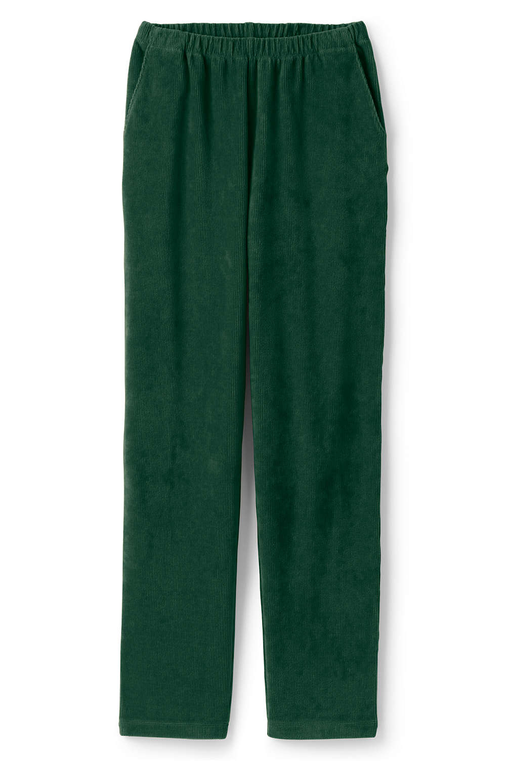 7dcada0fadf7 Women's Sport Knit Corduroy Elastic Waist Pants High Rise