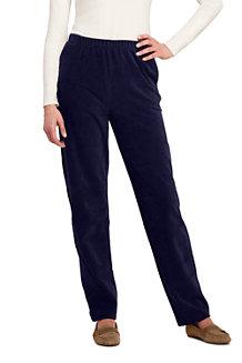 Le Pantalon en Velours Stretch Femme