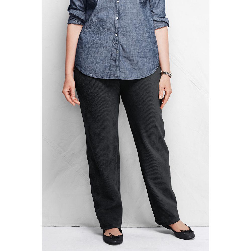 Lands' End Women's Plus Size Petite Sport Corduroy Pants
