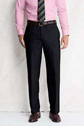 Men's Plain Front Comfort Waist Year'rounder Dress Pants
