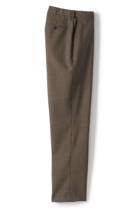 Men's Comfort Waist Year'rounder Wool Pants