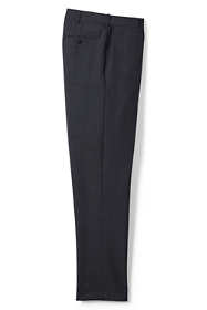 Men's Big and Tall Comfort Waist Year'rounder Wool Dress Pants