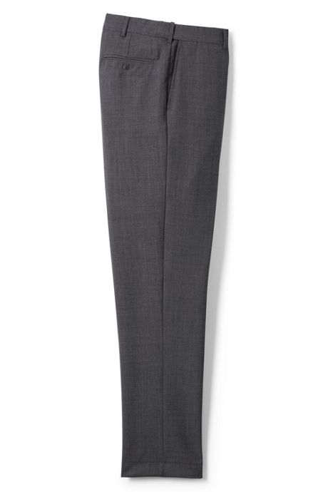 Men's Long Comfort Waist Year'rounder Wool Pants