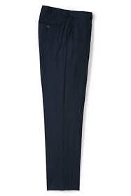 Men's Comfort Waist Wool Year'rounder Dress Trousers