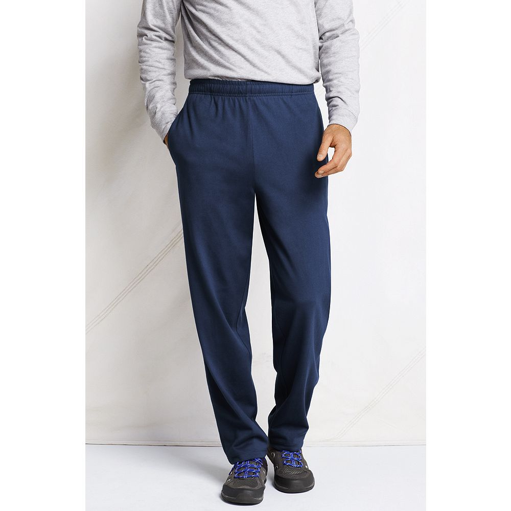 Lands' End Men's Big & Tall Jersey Knit Pants at Sears.com