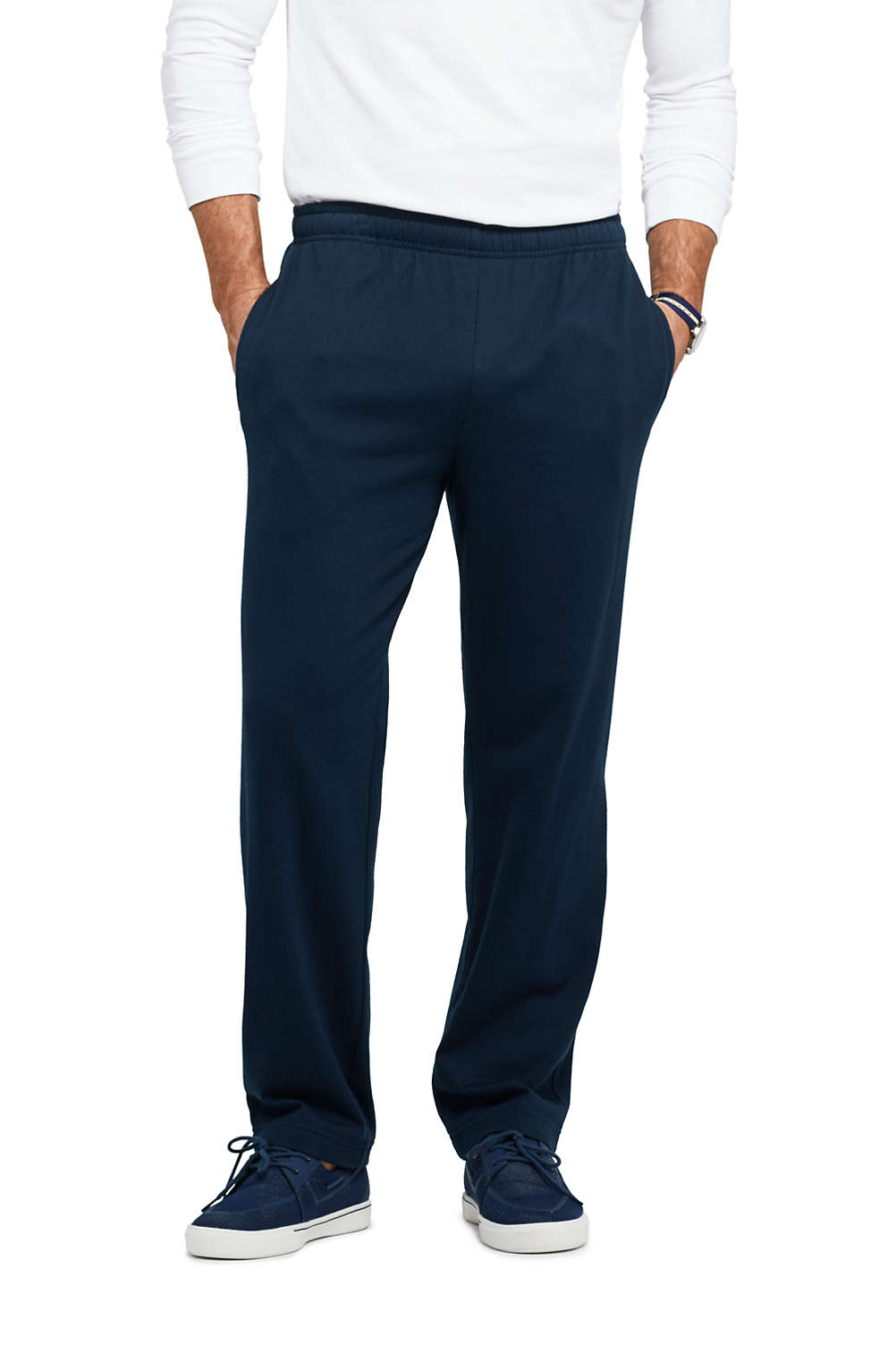 0734816e3048ef Men's Jersey Knit Pants from Lands' End
