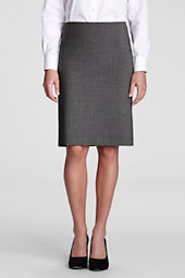 Women's Washable Wool Skirt