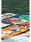 Velours-Strandtuch BATIK für Kinder