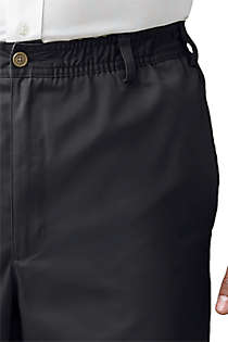Men's Elastic Waist Blend Chino Pants, Unknown