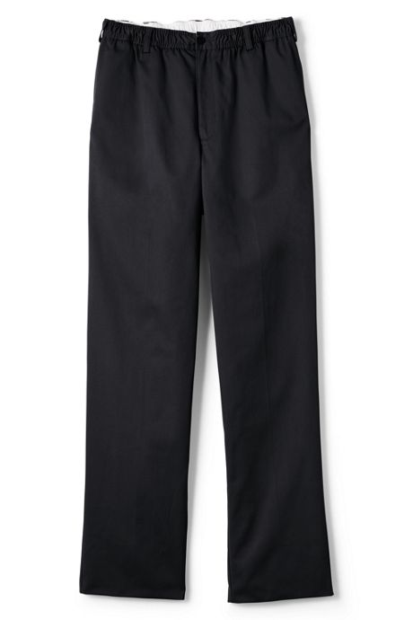 Men's Elastic Waist Blend Chino Pants