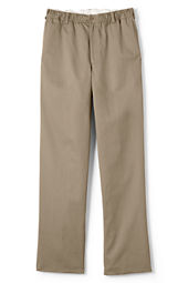 School Uniform Iron Knee® Elastic Waist Blend Chino Pants