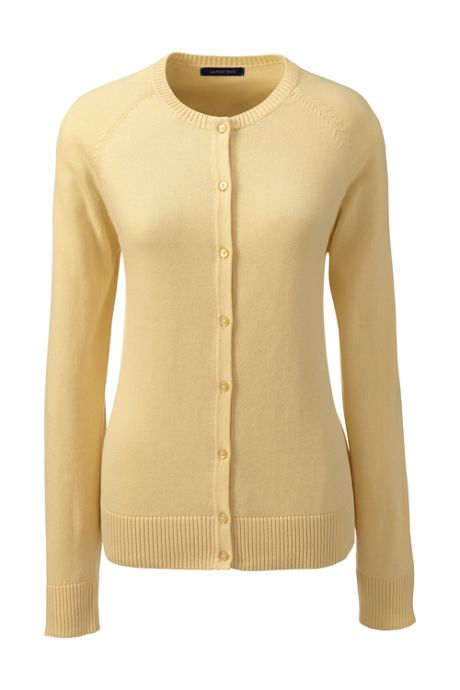 School Uniform Women's Fine Gauge Cardigan Sweater