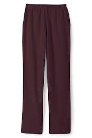 Women's Sport Knit High Rise Elastic Waist Pull On Pants