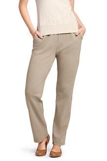 Le Pantalon en Coton Jersey Femme