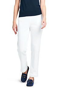 Safe Payment Womens Sport Knit Straight Leg Crops - 10 12 - WHITE Lands End 2018 New Sale Sast Sale Pictures Pre Order cKVvjkk