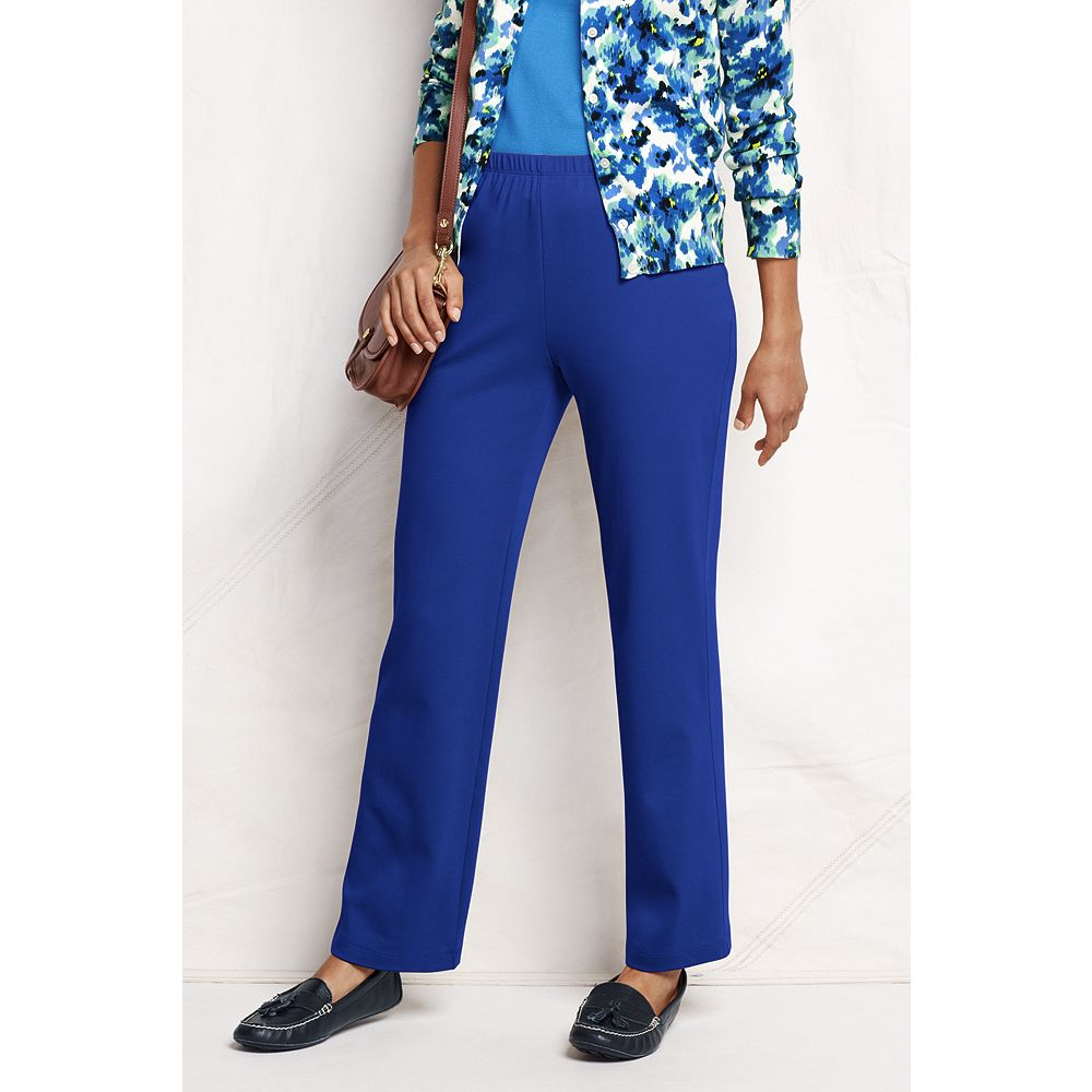 Lands' End Women's Tall Fit 3 Sport Knit Pants at Sears.com