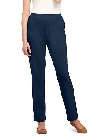 3d008783f590 Women's Sport Knit Straight Leg Trousers | Lands' End