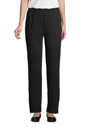 Women's Sport Knit Straight Leg Trousers