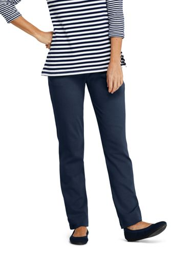 c5cc6811825e Women's Sport Knit High Rise Elastic Waist Pull On Pants from Lands' End
