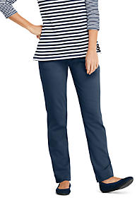 774020dba832f Women's Pants | Black & White Dress Pants Cotton | Lands' End