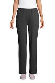 Women's Tall Sport Knit High Rise Elastic Waist Pull On Pants