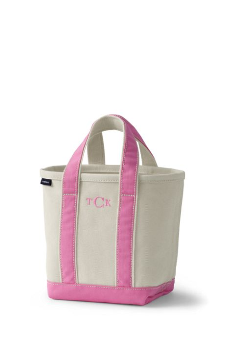 Small Natural Open Top Canvas Tote Bag