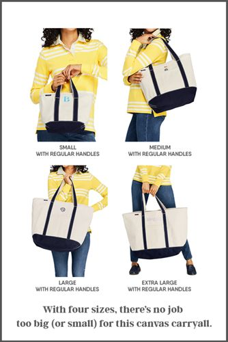Medium Natural Open Top Canvas Tote Bag