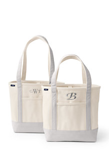 Large Open Top Canvas Tote Bag