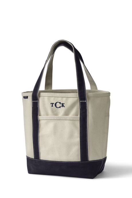 School Uniform Medium Natural Open Top Canvas Tote Bag