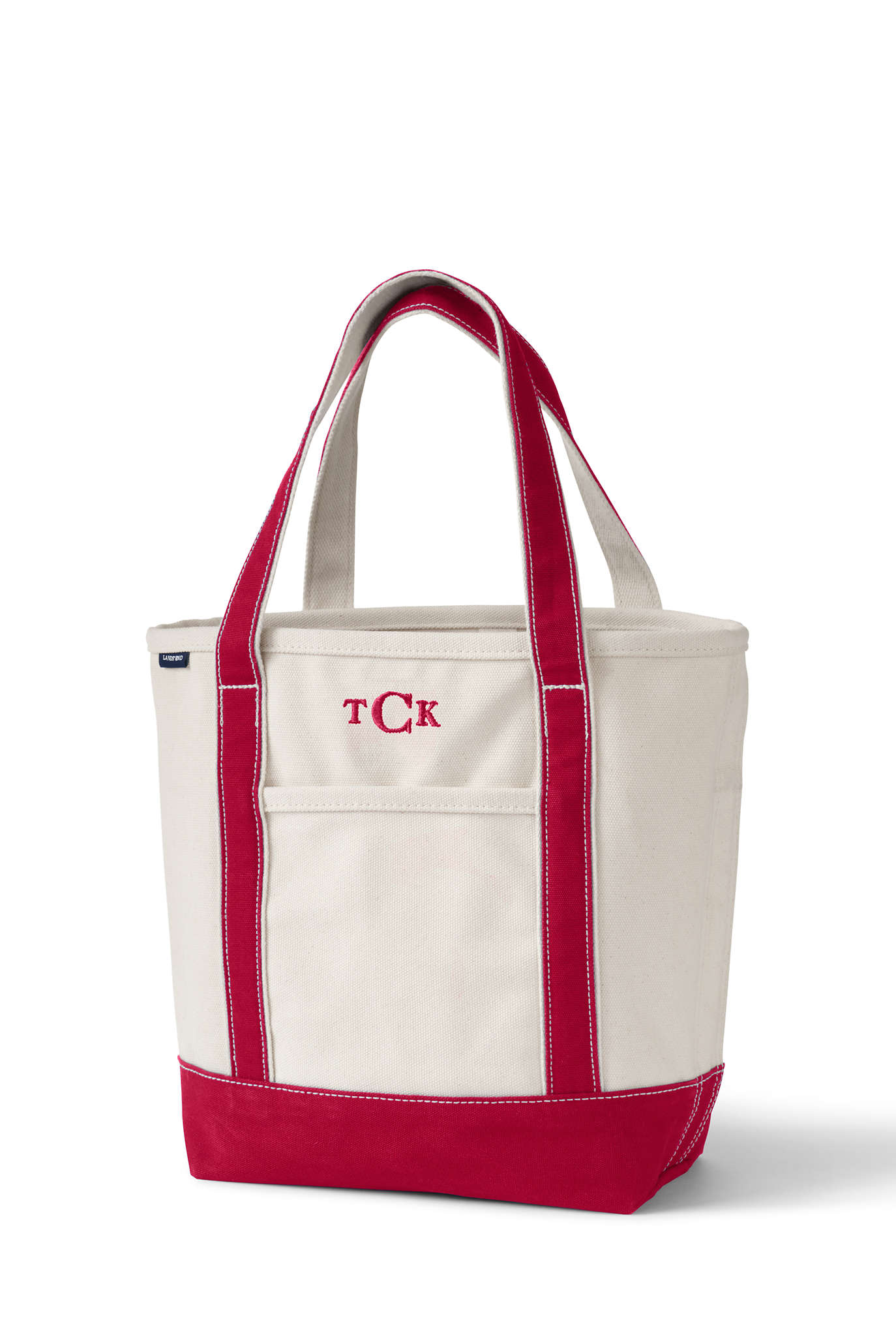 Circle Logo Canvas Tote