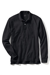 Men's Long Sleeve Performance Mesh Polo Shirt